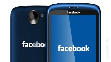 Facebook Phone di HTC