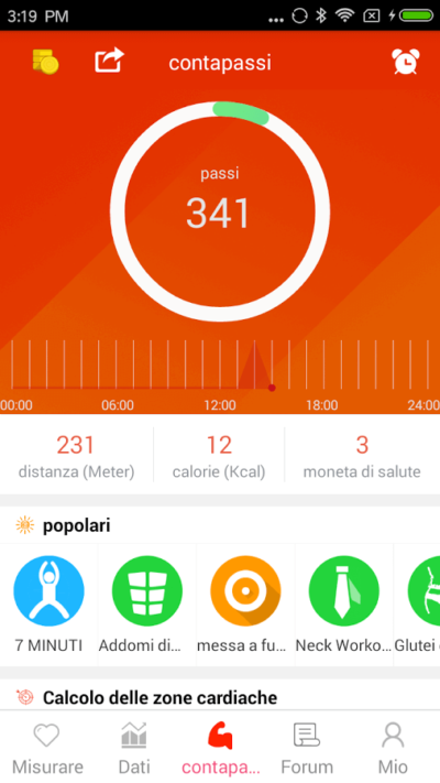 Contapassi-android