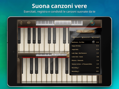 App piano android