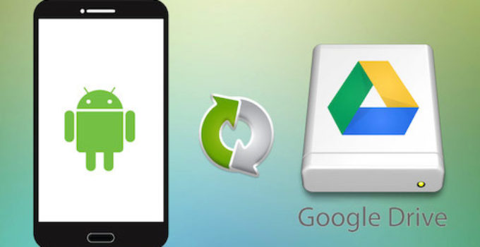 backup android google drive