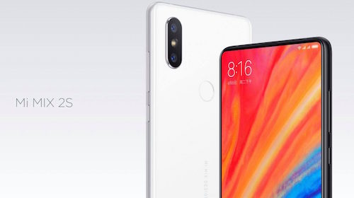 Xiaomi Mi MIX 2S ufficiale con intelligenza artificiale