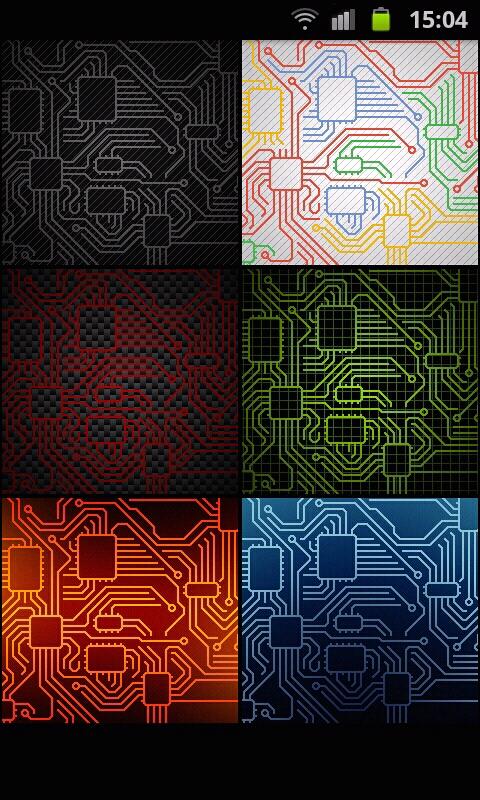 Circuitry Live Wallpaper Fantastici Temi Animati Per Android