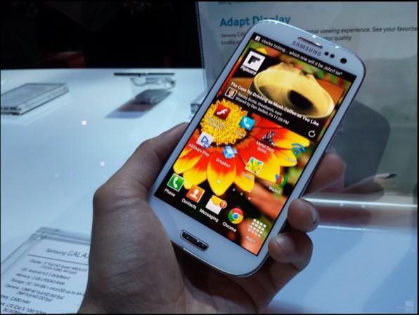 Foto-Shot Samsung Galaxy S4