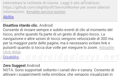 ritardo click chrome
