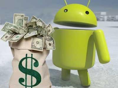 android risparmio gestione soldi