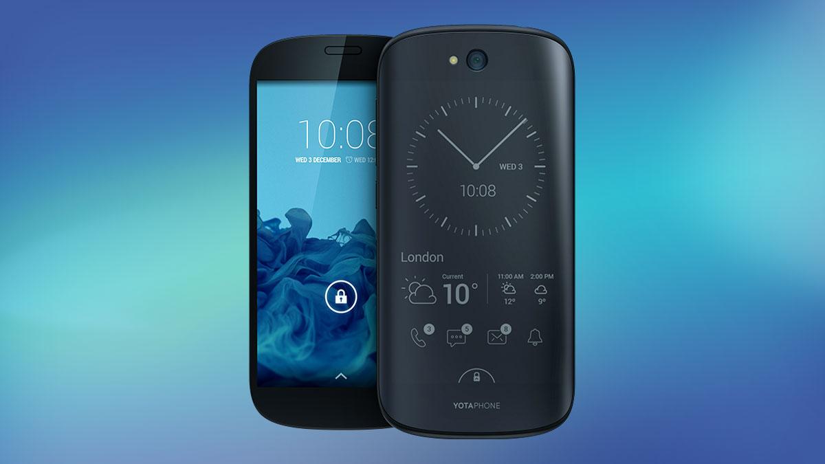 Yotaphone 2: recensione dello smartphone con batteria che dura 5 giorni