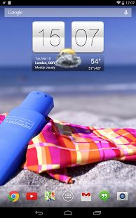 widget orologio 2