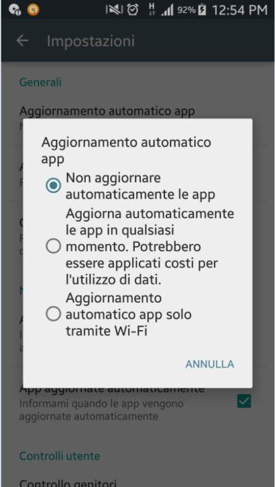 non-aggiornare-app