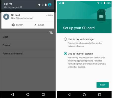 Come Spostare Le App Sulla Scheda Sd Con Android 6