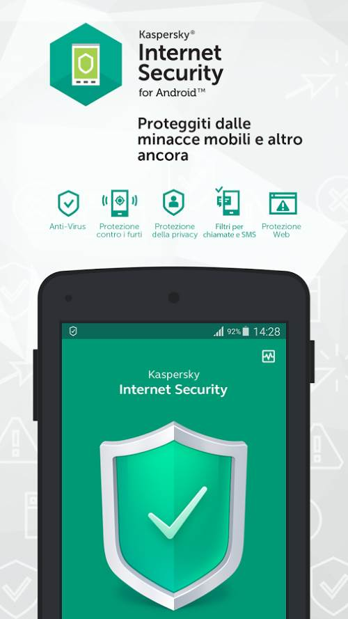 Kaspersky Antivirus & Security per android