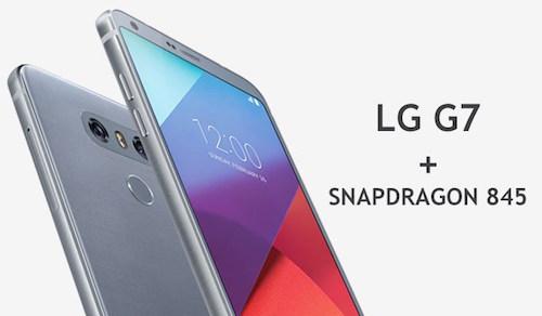 LG G7 impronte