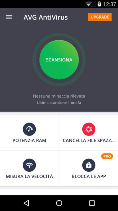 I 5 migliori antivirus gratis per android androiday for Antivirus per android gratis