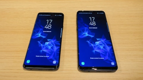 galaxy s9 display