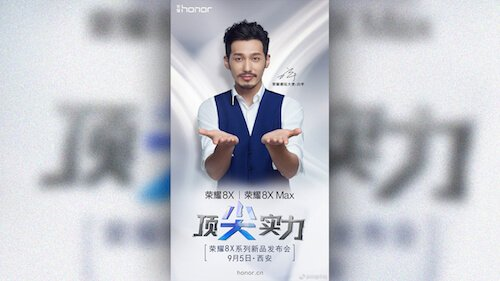 Honor 8X poster