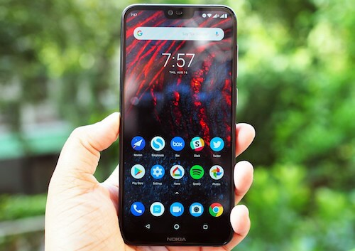Nokia 6.1 Plus design