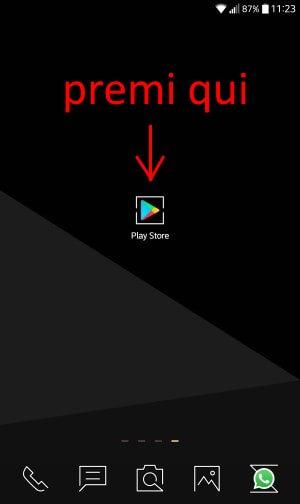 aggiornare mie app