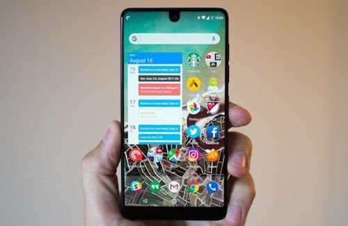 Essential Phone design