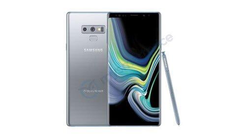 Galaxy Note 9 Silver