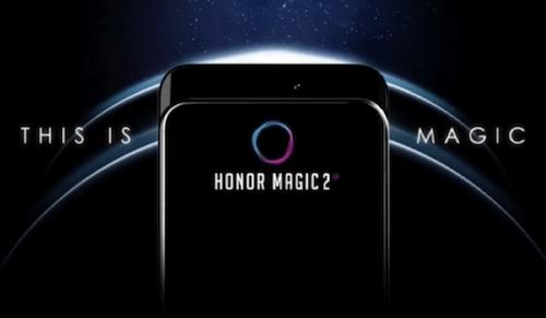 Honor Magic 2 design
