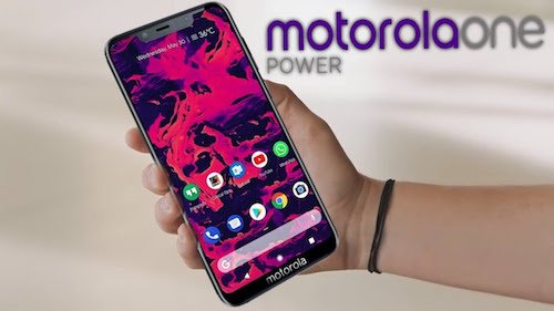 Motorola One Power design