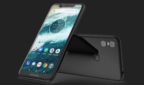 Motorola One design