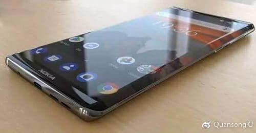 Nokia 9 frontale