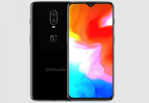 OnePlus 6T fronte