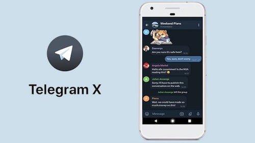 Telegram X aggiornamento