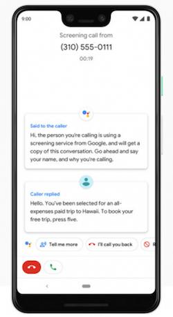 Google Duplex chiamata