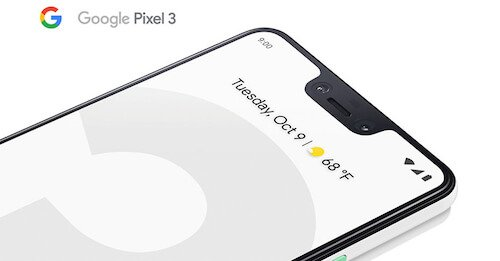 Google Pixel 3 foto