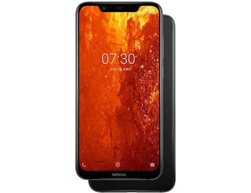 Nokia X7 foto