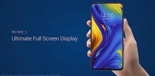Xiaomi Mi MIX 3 foto