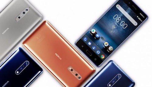 Nokia 8.1 foto