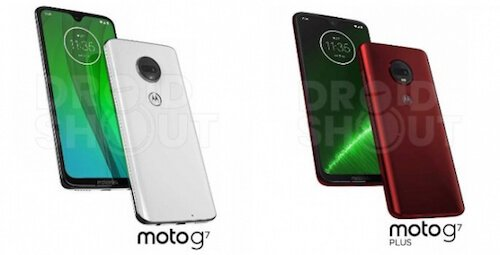 Moto G7 render