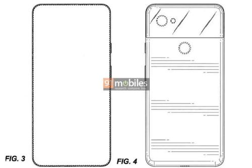 Google Pixel 4 brevetto