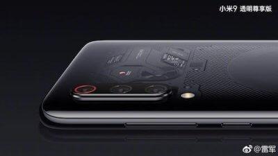 Xiaomi Mi 9 Explorer Edition foto