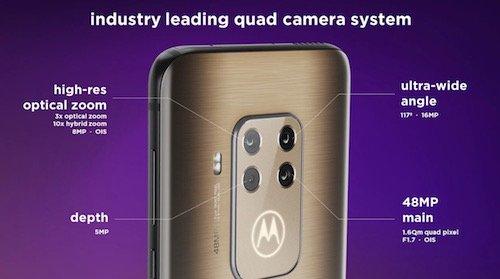 Motorola One Zoom fotocamere