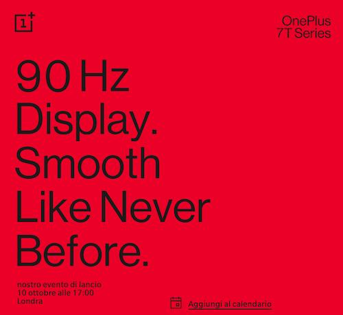OnePlus 7T presentazione