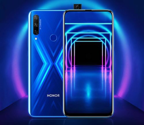 Honor 9X render