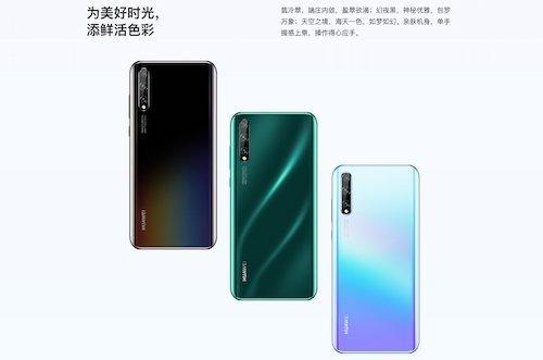 Huawei Enjoy 10s foto