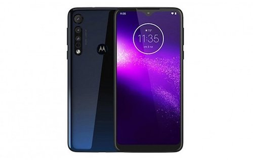 Motorola One Macro render