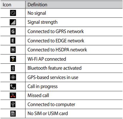 icone android connessione